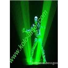 2w Green Laser Man System With Handheld Laser