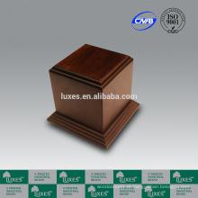 Urnas para cinzas LUXES venda quente urnas de madeira UN50 urnas baratas