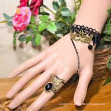 Facotry charms cloth accesseries wholesale FC-15 black dimamond cross bracelet