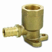 Lead-free Brass Barb Fitting with Female Thread, Ceiling Bracket or Wall Mounted