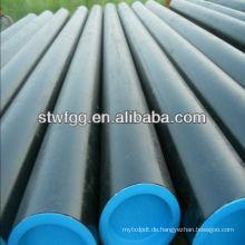 API 5L GrB / ASTM A106 GrB / ASTM A53 GrB Kohlenstoffstahl nahtlose Rohr
