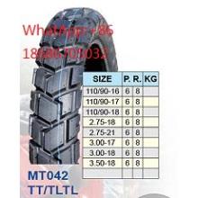 Moto pneu 2,75-18 2.75-21 18 3,00 3,00-18 3.50-18