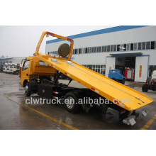 Factory Price Dongfeng DLK 4 ton flatbed wrecker manufacturer