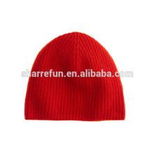 Fabricant de chapeau d'hiver Cachemire génial, chapeau pur bonnet de cachemire