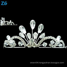 Yiwu Zhanggong crystal wholesale beauty pageant wedding using beauty pageant crown