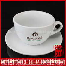 Bulk ceramic coffee mugs and saucer set,wholesale cheap coffe or tea suit set