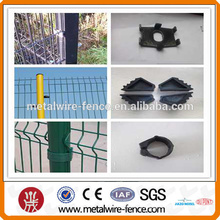 powder coated wire mesh fence post