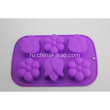 Colorful Silicone Cake Soap Tray