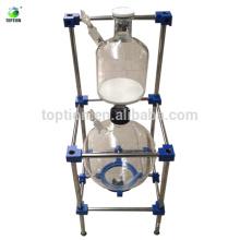 Подгонянный коррозионно-стойкие химический вакуумный стеклянный реактор фильтра