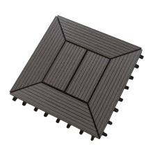 WPC DIY Decking Tile / Interlock baldosas para exteriores (DIY303023C)