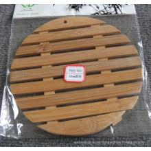 (BC-M1018) Ручная натуральная бамбуковая круглая изоляционная мат