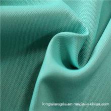 Tissu tissé en sergé Plaid Check simple Oxford Outdoor jacquard 100% polyester en tissu (E038)