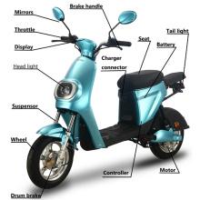 Smart Electric Motorcycle CE Certificate GTR-6