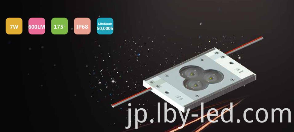 High lumen LED module for light box Seoul LED