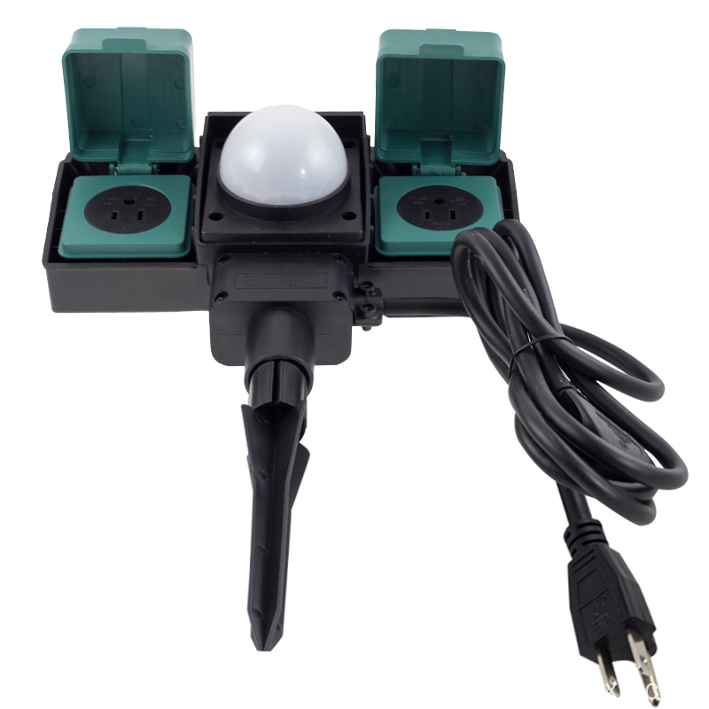 16A Outdoor Sockets med sensor