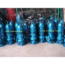 Pompe d'eaux usées submersibles sans obstruction Série Wq ISO approuvée