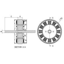 BL96 Series Permanent Magnet Synchronous Motor