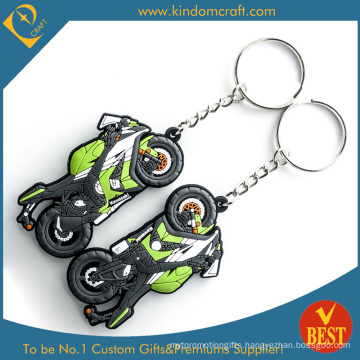 3D Feshion Motor Cycle Soft PVC Keychain