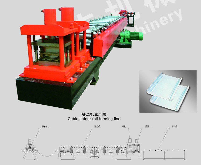 Cable Ladder Roll Forming Line