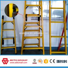Escalera plegable de incendios, escalera de fibra de vidrio de aluminio, escalera de aluminio