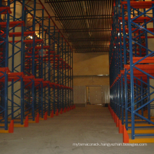 China manufacturer warehosue rack use pallet storage drive in racking
