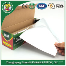Aluminum Foil Roll Packaging with Dispenser Cutter