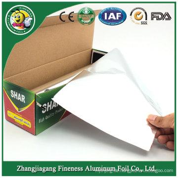 Aluminiumfolie Rollenverpackung mit Dispenser Cutter