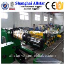 Nuevo diseño de aluminio placa/hoja metal gofrada máquina de China proveedor