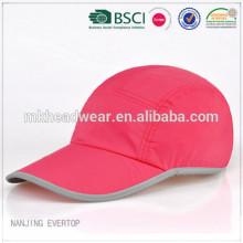 fashion 100 polyester 5 panel cap, 5 panel golf cap