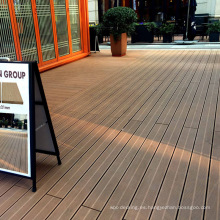 Decking del wpc ambiental antideslizante del patio al aire libre