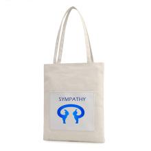 कस्टम हारजुकु कैनवास बैग अवकाश बैग शॉपिंग बैग
