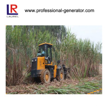 Caçador de cana-de-açúcar, máquina de cana-de-açúcar de 44kw, colheitadeira de cana-de-açúcar