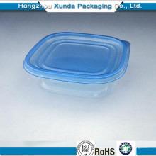 Recipiente de plástico microondas para alimentos