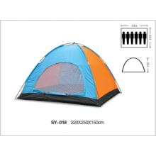 Más de 6 personas monocamaras tiendas de acampar al aire libre de una sola puerta que venden de shenzhen a todo el mundo