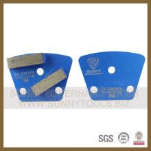 Diamond Abrasive Segment Grinding Pad para Concreto, Granito, Sanstone