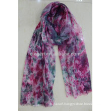 In Stock Mixed Color Digital print Polyester Scarf