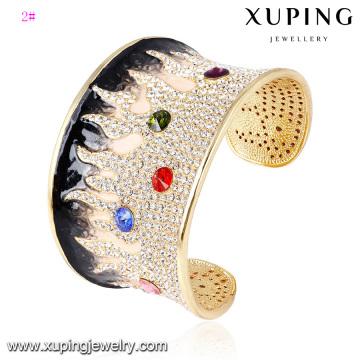 Браслет -63 мода элегантный rhinestone ювелирных изделий Браслет кольцо в 24k золото Цвет