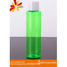 Botella de reactivo medio transparente