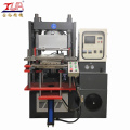 Vacuum compression molding transfer label making machine