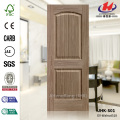 Lattice Long Design EV-518 Walnut HDF Door Skin Wood