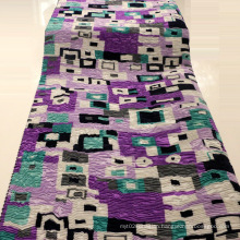 Printed Crepe Polyester Fabric for Dresses/Coat