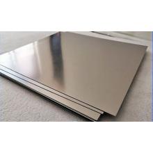 Quadratische Platte aus Titan 6AL-4V