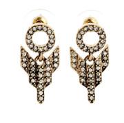 2015 Hot Fashion Vintage Crystal Rhinestone Alloy Earring Jewelry
