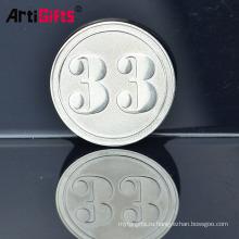 Обычай сбора поставляет высокое качество великая Китайская стена алюминиевая серебряная монета