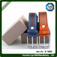 genuine leather belt for men canvas business 2015 casual