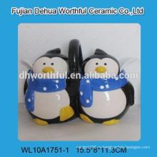 Набор керамических приправ для пингвинов