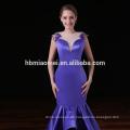 Benutzerdefinierte bestickte Damen besonderen Anlass elegante Meerjungfrau Abendkleid