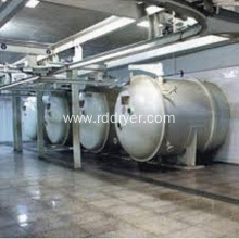 apple slice vacuum drying machine for food industry
