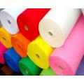 Tecido de feltro sintético de poliéster colorido
