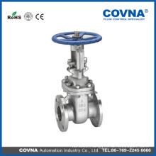 manual cf8m wcb flange water Stem gate valves